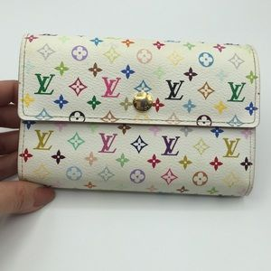 Authentic Louis Vuitton Alexandra wallet